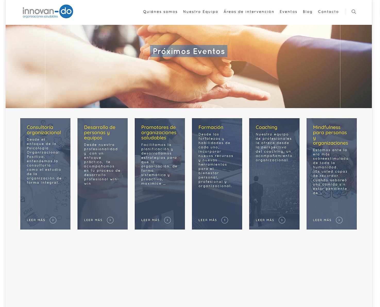 Diseño Portal web Innovan-do