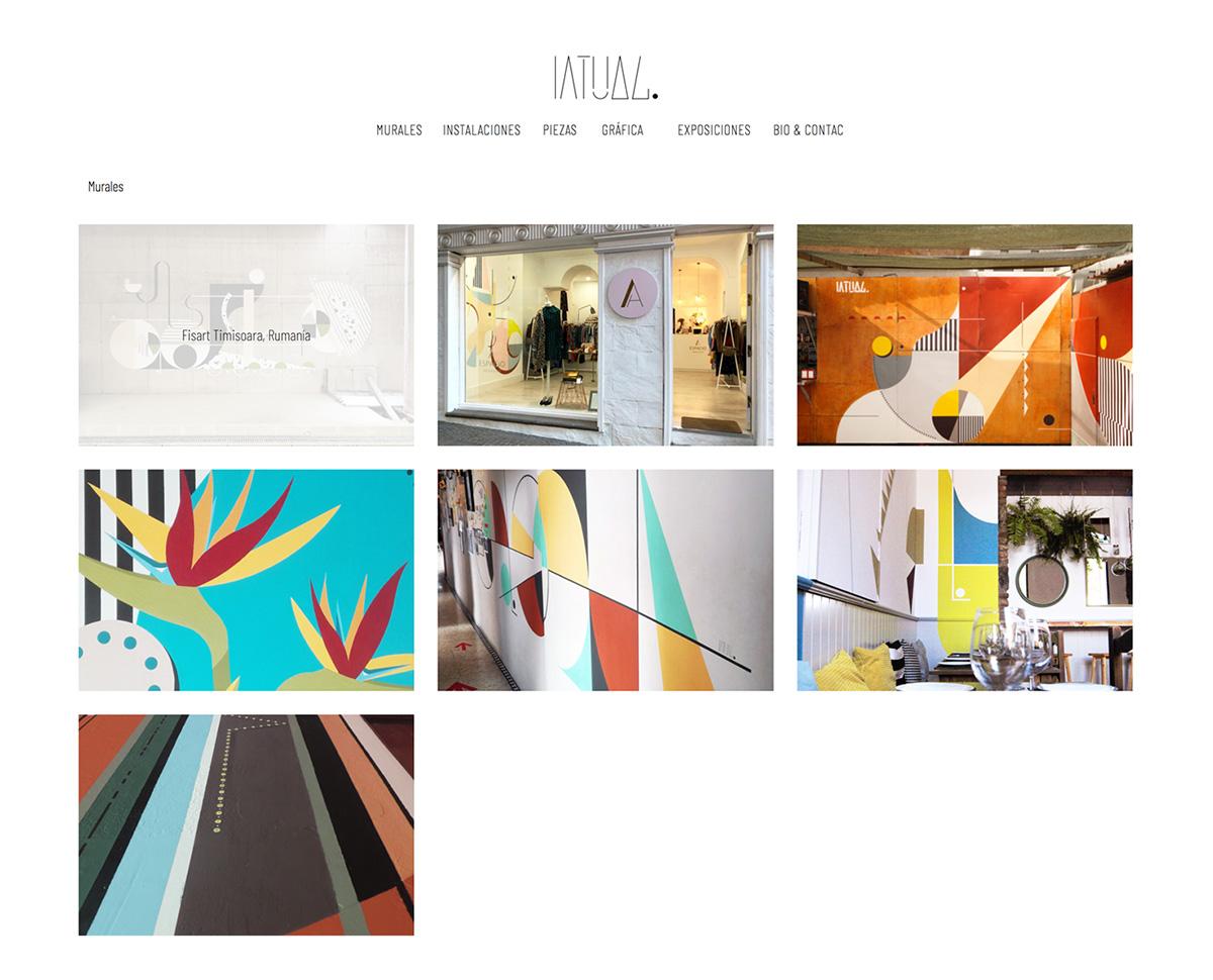 Increate diseño web tenerife - diseño portafolio web Oscar Latuag