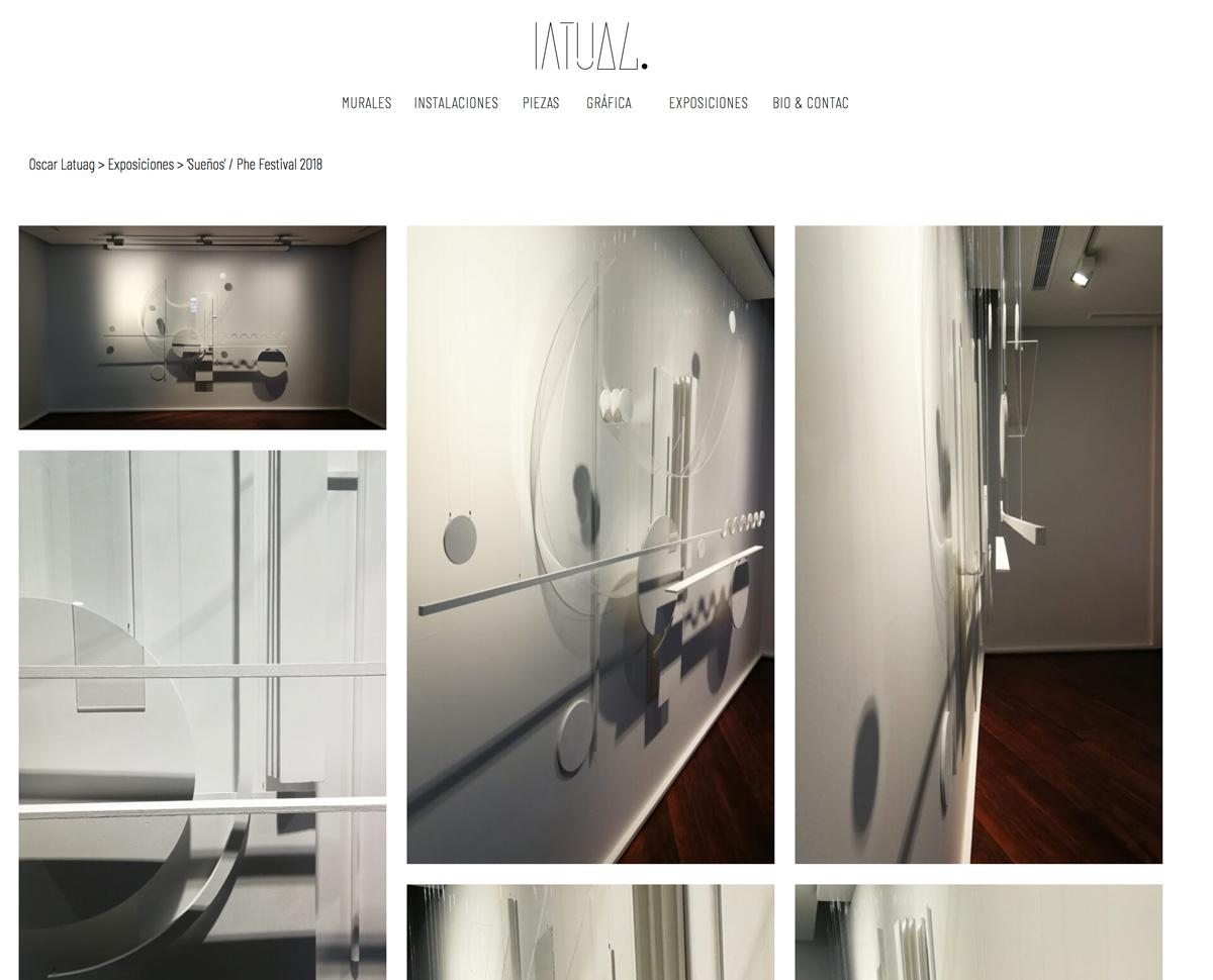 Increate diseño web tenerife - diseño portafolio web Oscar Latuag masonry 1