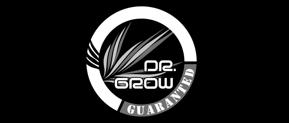 increate logo dr grow negativo